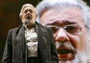 В пятницу на Софийской площади в Киеве выступит Пласидо Доминго