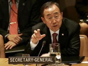 Генсек ООН просит спасти правительство Сомали
