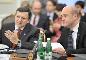 Баррозу надеется на подписание соглашения об ассоциации между Украиной и ЕС в 2010 году