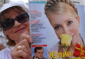 Тимошенко призывает европейских политиков игнорировать Януковича во время Евро-2012