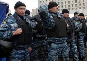 МВД - новости Киева - митинг - милиция - МВД Киева не сообщает о точном количестве правоохранителей 18 мая
