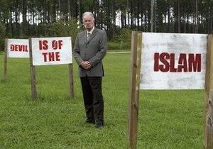 Пастор Джонс попал в тюрьму при попытке провести очередную антиисламскую акцию