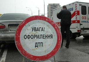 В Кировограде столкнулись две маршрутки: четыре человека пострадали