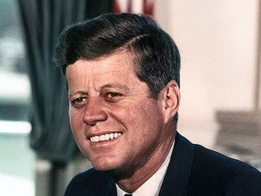 В США продали последний автограф Джона Кеннеди