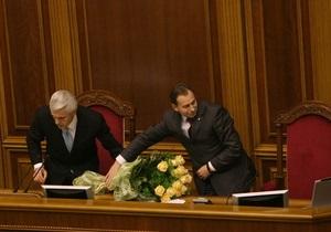 Томенко отказывается сидеть рядом с Литвином