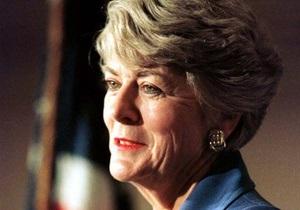 Икона американской политики Джеральдин Ферраро скончалась от рака