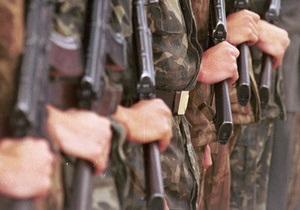 В Мукачево во время несения караула застрелился солдат