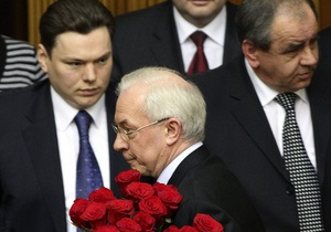 Азаров объяснил отсутствие женщин в правительстве
