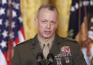 Американского генерала уволили за критику руководства Афганистана