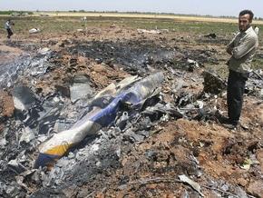 Крушение иранского Ту-154 было вызвано остановкой двигателя