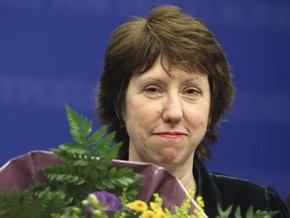 Кэтрин Эштон узнала о своем назначении на пост министра иностранных дел ЕС, прочитав SMS от Баррозу