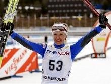 Лыжные гонки: Валентина Шевченко победила на этапе Кубка мира