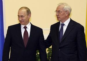 Азаров предложил Путину морской шельф