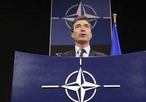 Расмуссен: Украина должна сама решить, хочет ли она вступать в НАТО