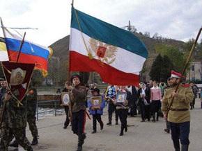 В Керчи прошел крестный ход по случаю годовщины ухода из Крыма Белой армии