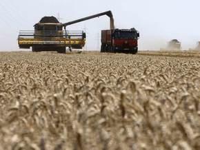 Украина намолотила 35 млн тонн зерна