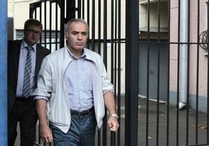 Гарри Каспарова допросили по факту  укуса полицейского