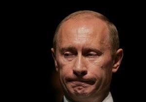 Путину 2010-й год запомнился пожарами