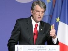 Ющенко очень доволен результатами саммита в Париже