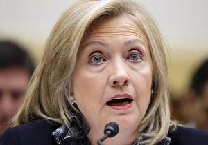 Клинтон заявила, что США фиксируют факты ограничений свободы в России