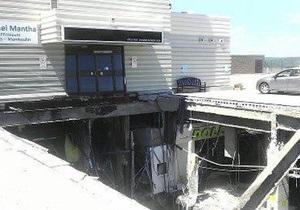 В Канаде обрушилась крыша торгового центра
