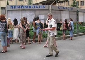 Вступительная кампания: Табачник отреагировал на предупреждение Азарова