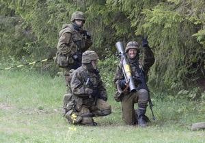Эстония проведет масштабные военные учения вблизи границы с Россией