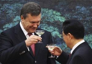 Фотогалерея: Янукович в Поднебесной. Украинский Президент побывал в Китае