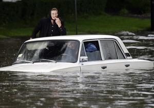 Тернополь оказался под водой