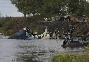 Разбившемуся под Ярославлем Як-42 в августе заменили один из двигателей