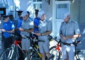 Улицы Ялты будут патрулировать  милиционеры на велосипедах