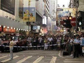 В Гонконге неизвестный плеснул кислоту в толпу: более двадцати пострадавших