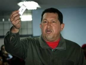 Чавес считает, что на референдуме решается его политическое будущее