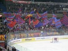 Российское хоккейное дерби ознаменовалось дракой фанатов