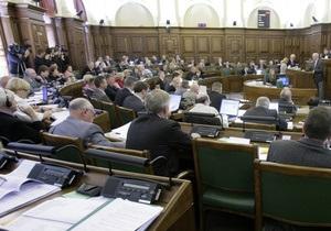 Лекцию о русском мате прослушали лишь 15 из 100 латвийских депутатов