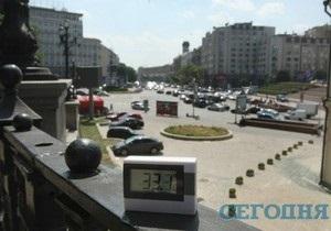 В Киеве побит температурный рекорд 64-летней давности