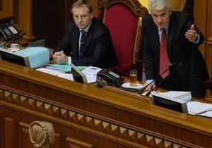 Литвин выступил за отставку Тимошенко