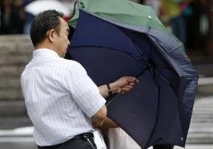 В Японии более 50 человек пострадали от тайфуна Ма-он