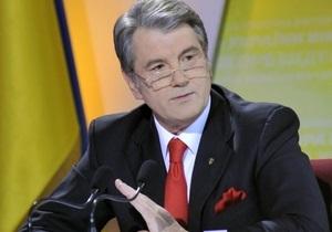 Ющенко отвергает любые обвинения в притеснении свободы слова