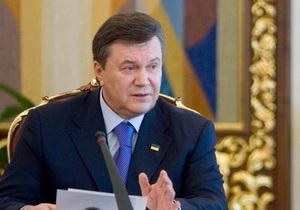 Янукович выступил против строительства небоскребов в центре Киева