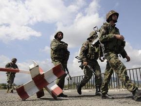 В Грузии неизвестные обстреляли машину наблюдателей ЕС