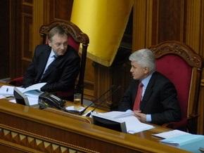 Литвин не знает, будут ли регионалы завтра блокировать Раду