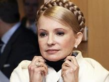 Тимошенко встретилась с Генсеком НАТО и улетела