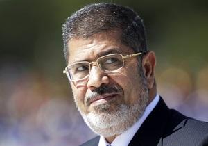 Уголовное дело в отношении Мурси возбуждено не было - Генпрокуратура