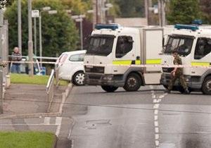 В Северной Ирландии произошел взрыв. Ранены дети