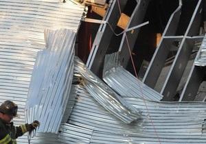 На Брайтон-Бич в Нью-Йорке рухнула пятиэтажка
