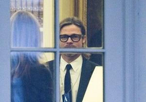 Обама встретился с Анджелиной Джоли и Брэдом Питтом