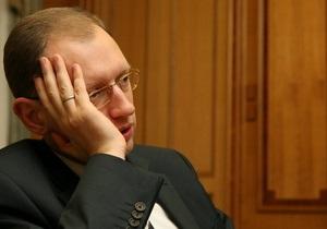 Яценюк предложил свой метод решения конфликта вокруг частот 5 канала и ТВi