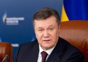 Янукович создал рабочую группу для воплощения рекомендаций, изложенных в резолюции ПАСЕ