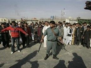 Жители Кабула вышли на демонстрацию в ответ на обстрел автомобиля британскими военными